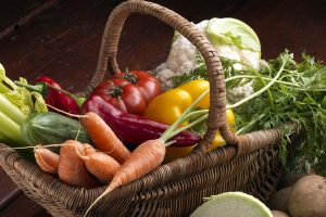 Vegetables in a basket - Laura's Idea - vegan and vegetarian dishes