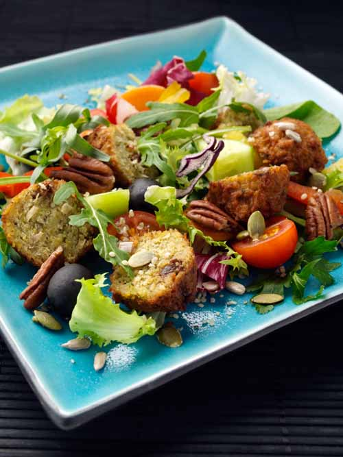 Falafel Salad - Laura's Idea