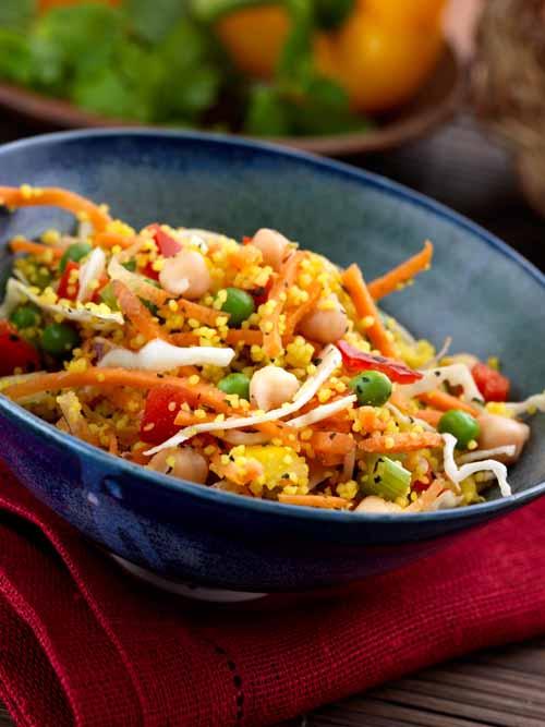 Chick & Pea Salad - Vegan - Laura's Idea