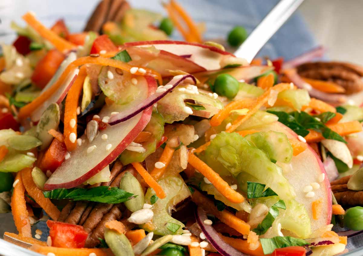 Rainbow Salad - Vegan - Laura's Idea