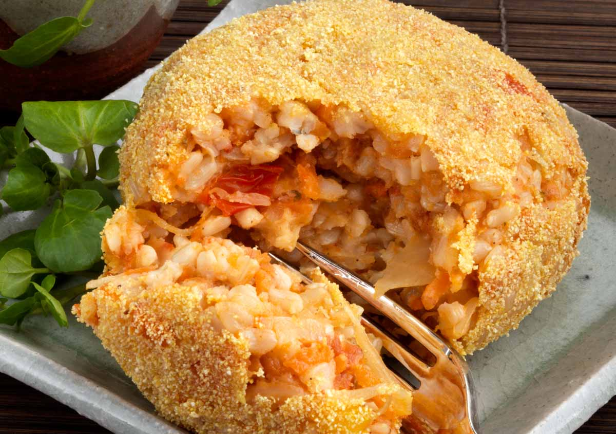 Rice Croquette - Vegan - Laura's Idea