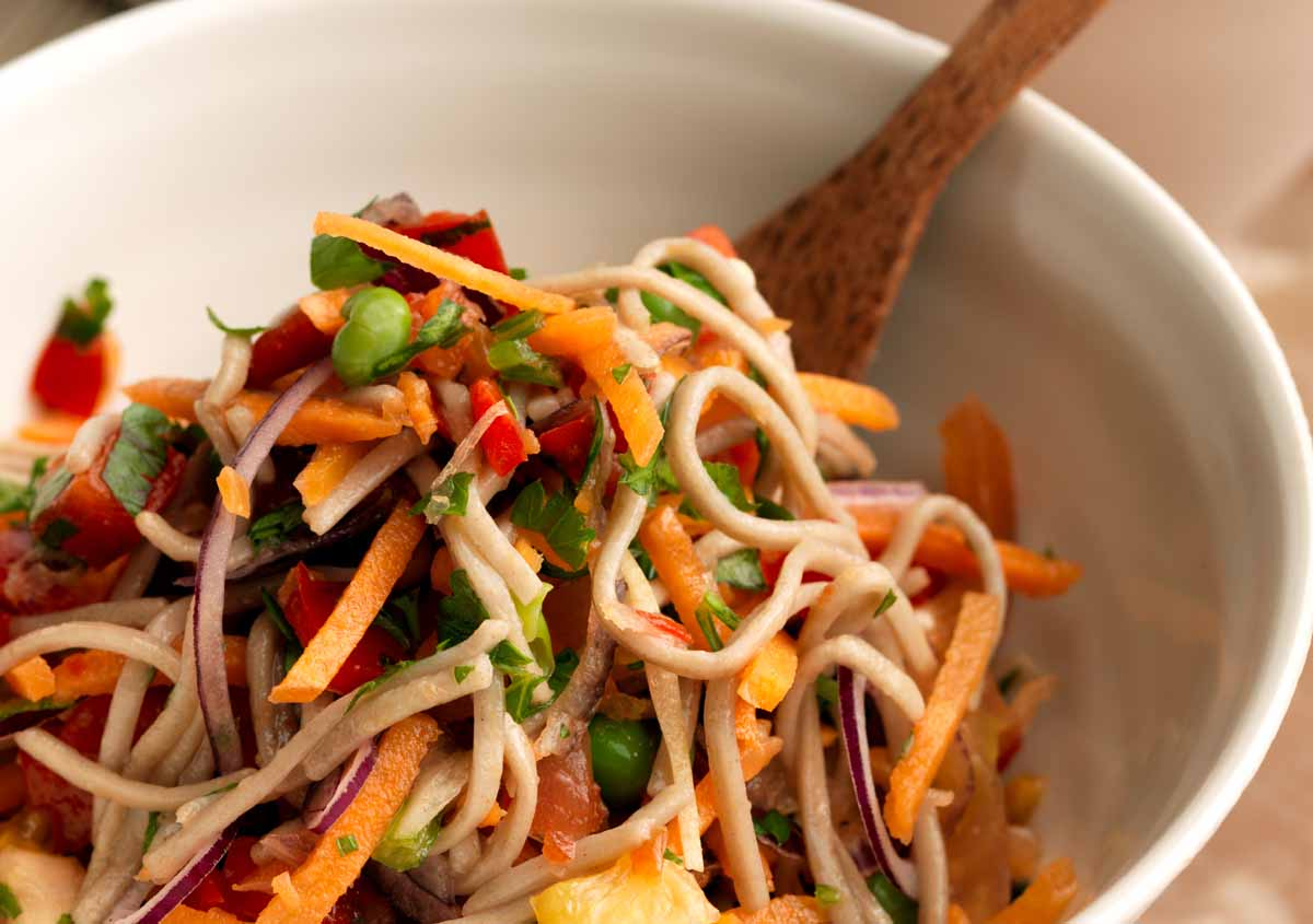 Laura's Idea - Spicy Soba Noodles - Vegan