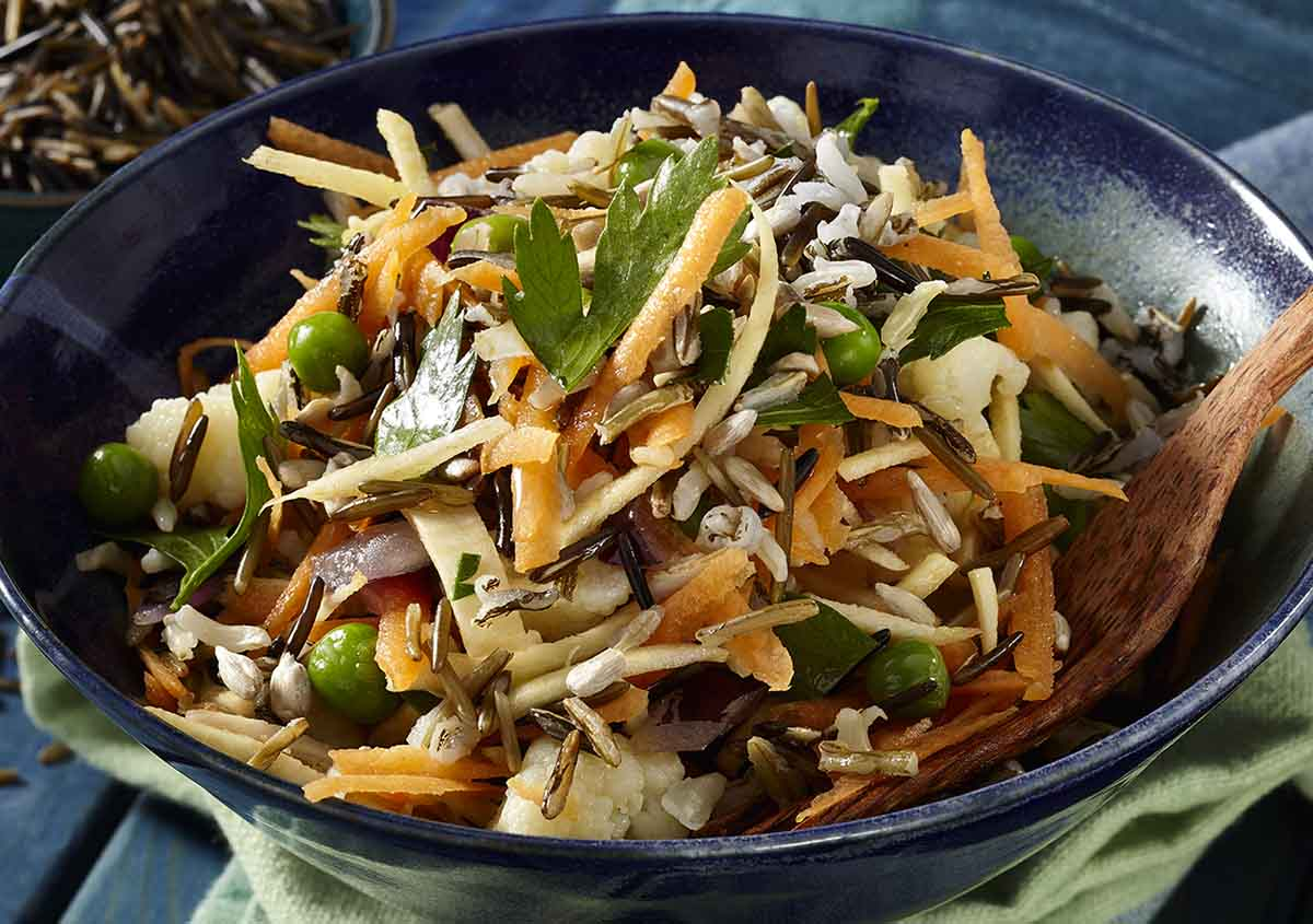 Wild Rice Salad - Vegan - Laura's Idea