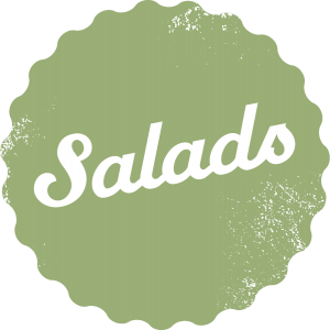 Salads - vegetarian and vegan savoury dishes from Laura's Idea