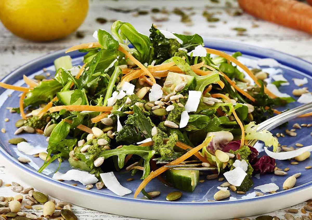 Raw Seed Salad - Laura's Idea