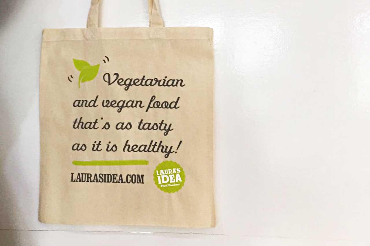 Laura's Idea Tote Bag - Social Media Contest
