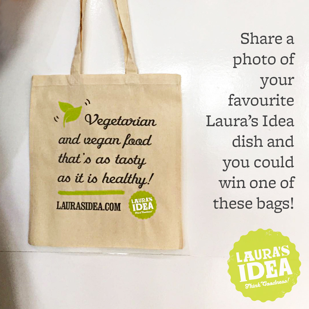 Laura's Idea Tote Bag - Social Media Contest