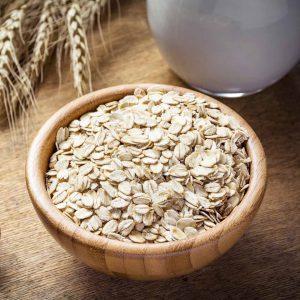 Oats Rule! Laura's Idea - oat flakes in bowl