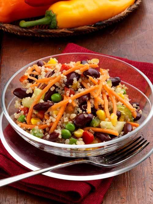 Quinoa Salad - Vegan - Laura's Idea