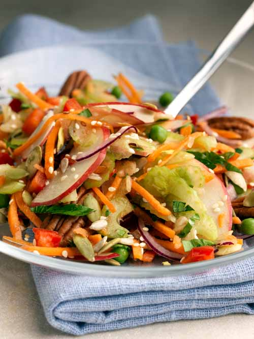Rainbow Salad - Vegan - Laura's Idea