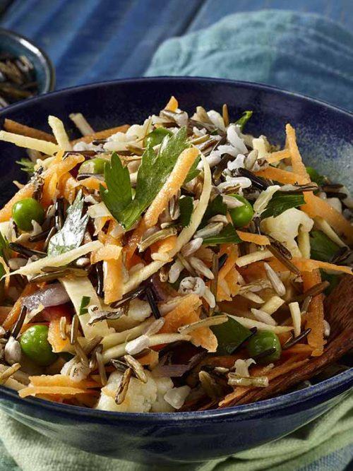 Wild Rice Salad - Vegan - Laura's Idea