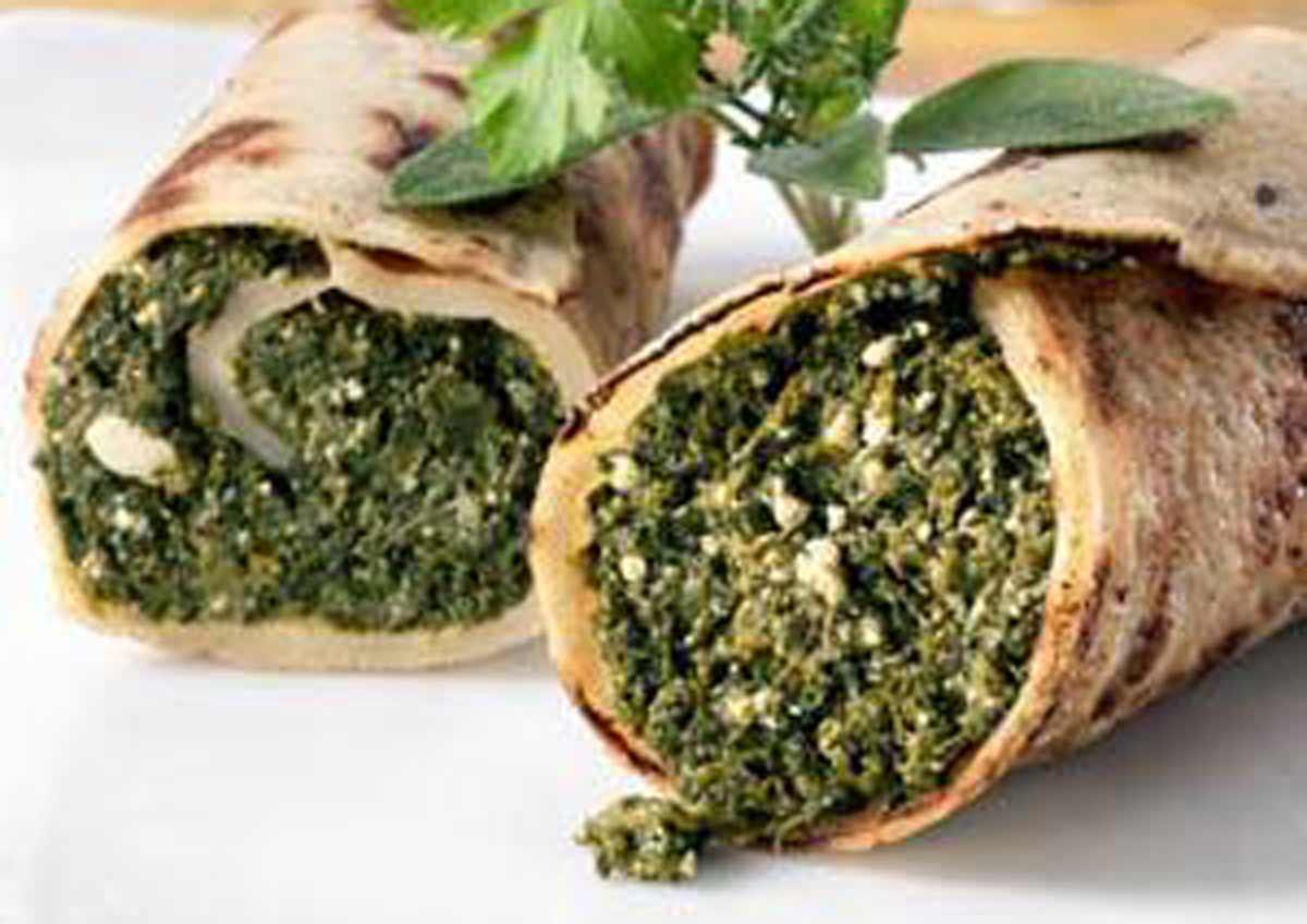 Spinach Pancake - vegan - Laura's Idea